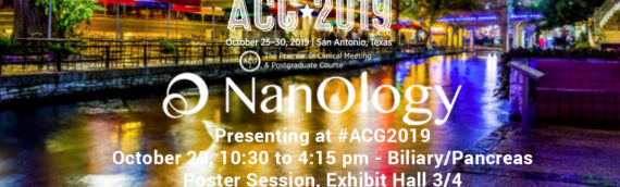 NanOlogy to Present Interim Data for Pancreatic Cancer and Mucinous Cystic Neoplasms of the Pancreas with Local Injection of NanoPac®
